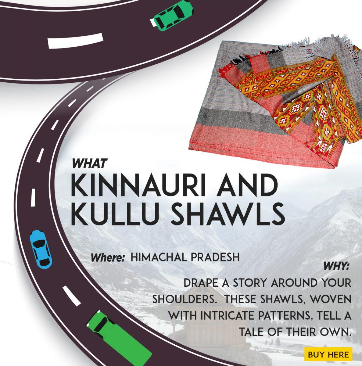 kinnauri and kullu shawls