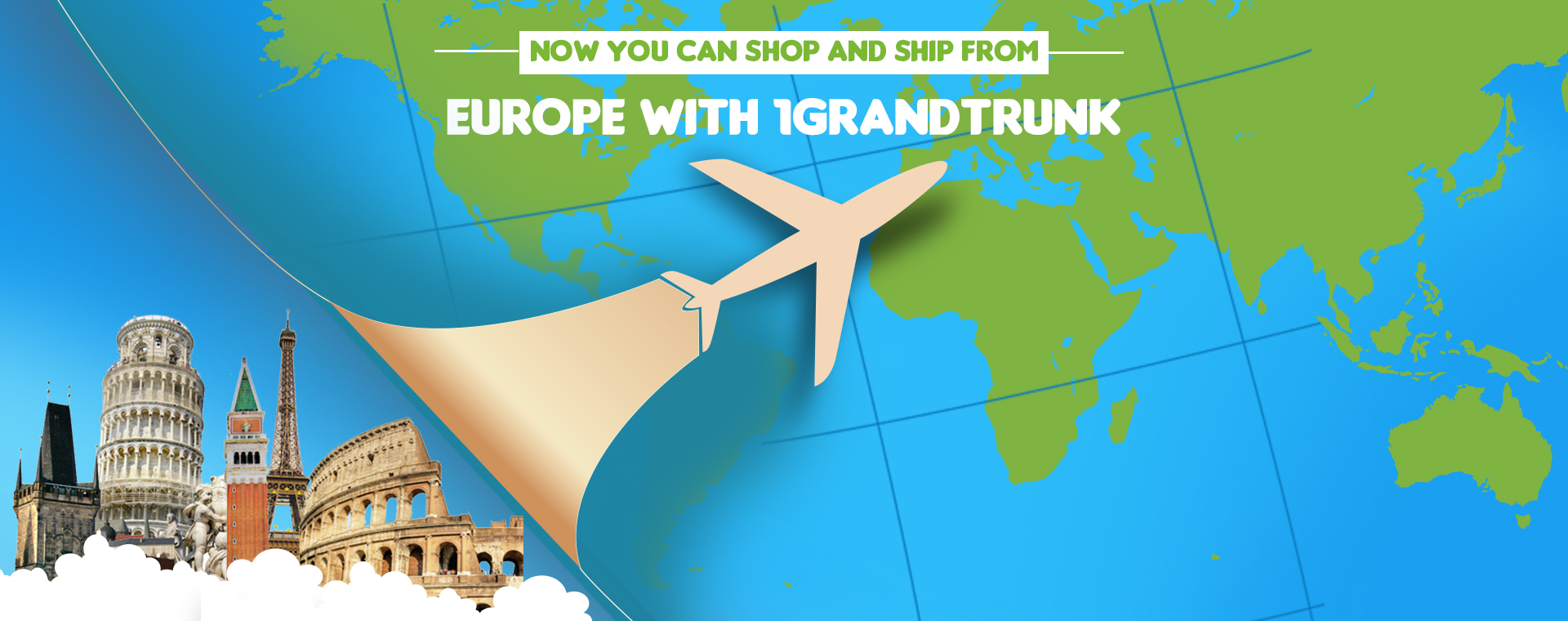 International Shipping from USA, China, India and Europe|Get
